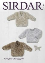 5167 - Sweaters Knitting Pattern